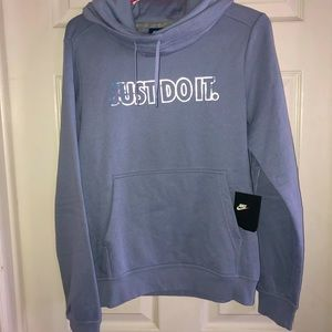 Nike periwinkle hoodie